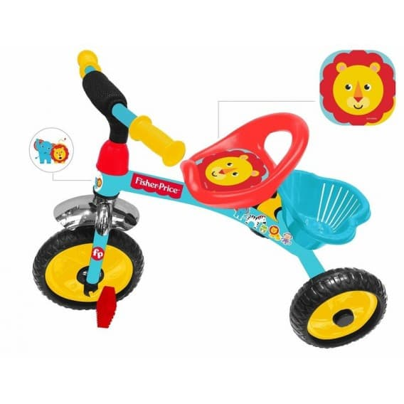 Детский трехколесный велосипед Fisher price HF1M новинка 2018