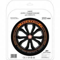 Набор колес Tech Team 200 мм и подшипников ABEC 7 2018