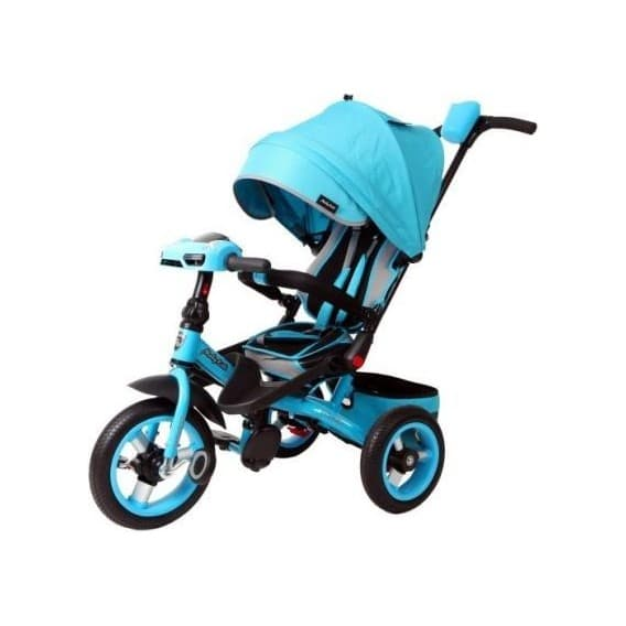 Велосипед-трансформер Moby Kids 360 с фарой синий