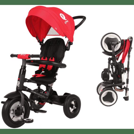 Складной детский велосипед QPlay RITO красный