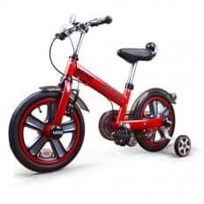 Детский красный двухколесный велосипед Rastar