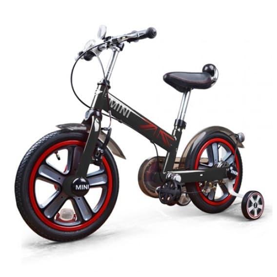 Детский черный двухколесный велосипед Rastar