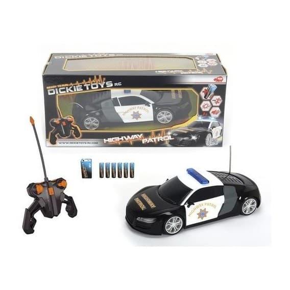 Полицейский патруль на радиоуправлении