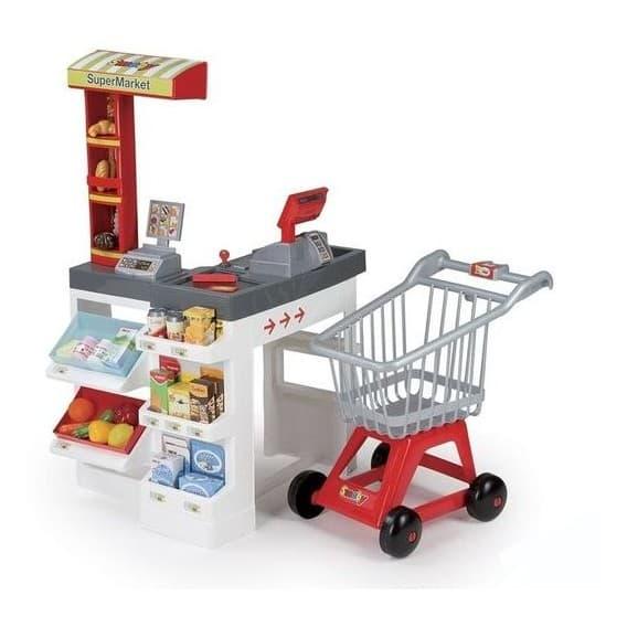 Набор Супермаркет с тележкой со звуком