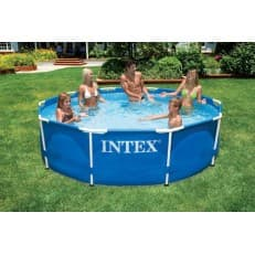 Каркасный бассейн Metal Frame Pool Intex 366 х 76 см