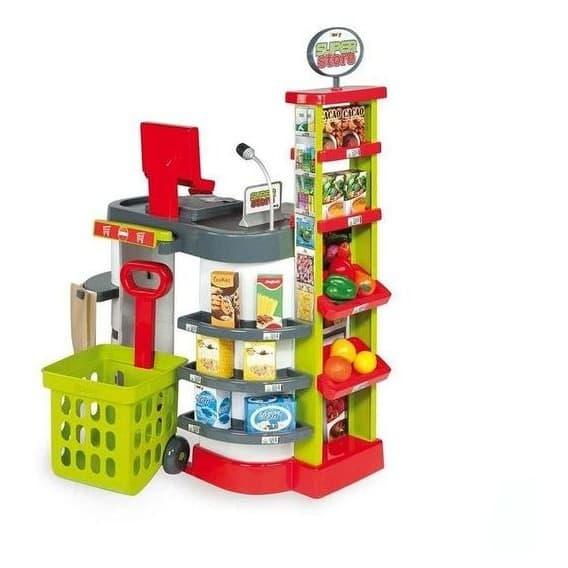 Игровой Супермаркет зеленый