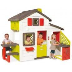 Smoby домик для друзей с кухней и аксессуарами