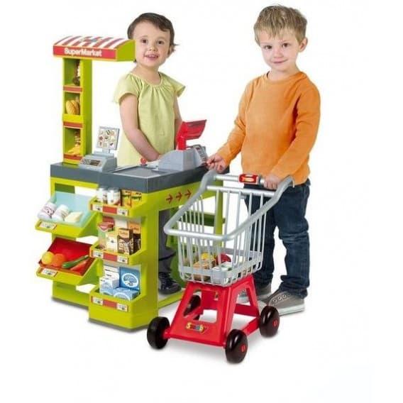 Игрушечный Супермаркет с тележкой