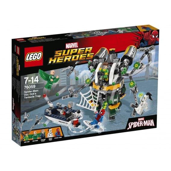 Конструктор LEGO Super Heroes Человек-паук: В ловушке Доктора Осьминога
