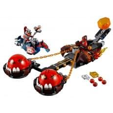 Конструктор LEGO Nexo Безумная колесница Укротителя