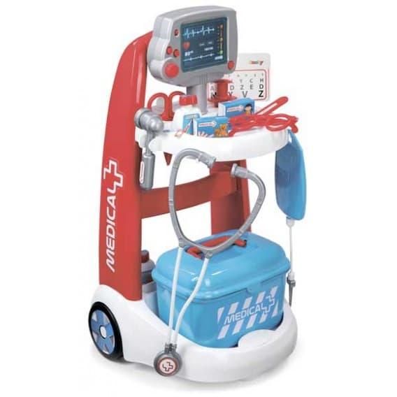 Интерактивная электронная медицинская тележка Smoby
