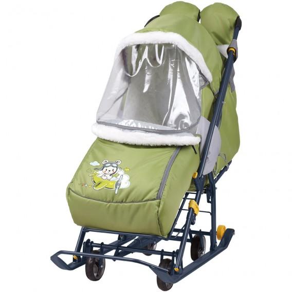 Санки-коляска комбинированная Наши детки 2