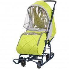 Санки-коляска с выдвижными колесами Наши детки 3