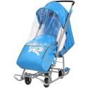 Санки коляска Disney baby с колесами