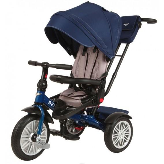 Трехколесный велосипед Bentley синий