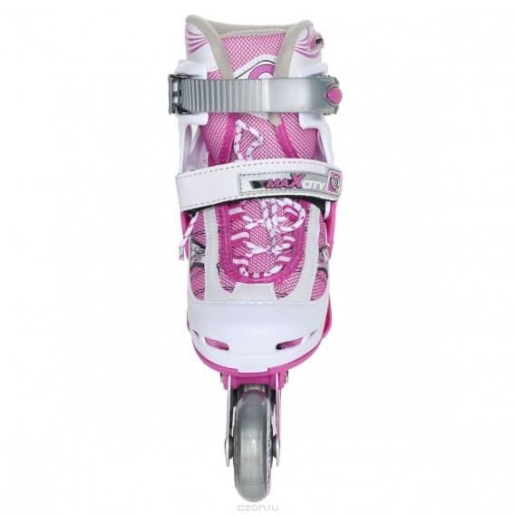 Раздвижные роликовые коньки Symbol Pink