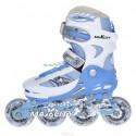 Раздвижные роликовые коньки Symbol Blue