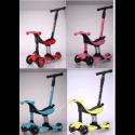 Самокат Scooter Micar Dino 4 в 1