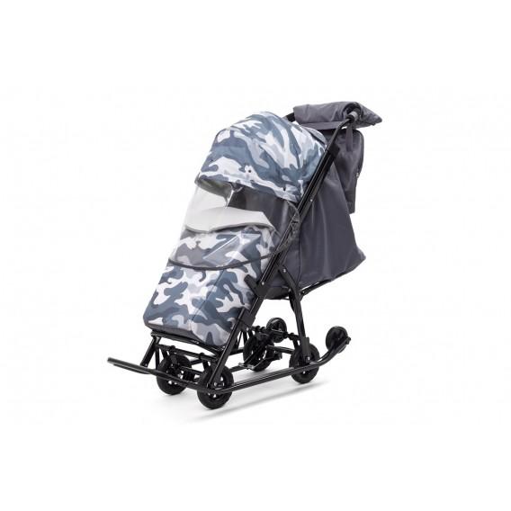 Санки Pikate Military compact (серый)