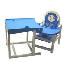 Стол-стул для кормления Babys Hedgy синий