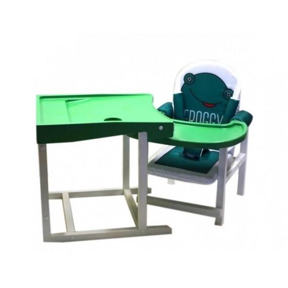 Стол-стул для кормления Babys Froggy зеленый