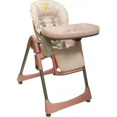 Стульчик для кормления Baby Ace Pink розовый с рисунком