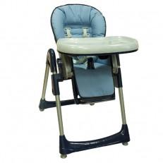 Стульчик для кормления Baby Ace Blue голубой без рисунка