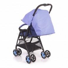 Складная прогулочная коляска Jetem - Carbon синяя