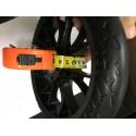 Колесо для самоката с дисковым тормозом 200 мм