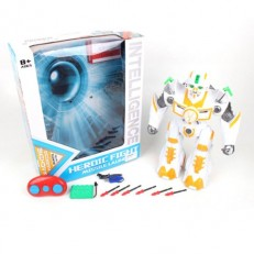 Радиоуправляемый робот Heroic Fight со светом, звуком и USB
