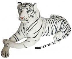 Мягкая игрушка Большой Белый Тигр