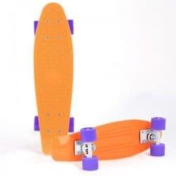 Скейтборд РР ULU оранжевый