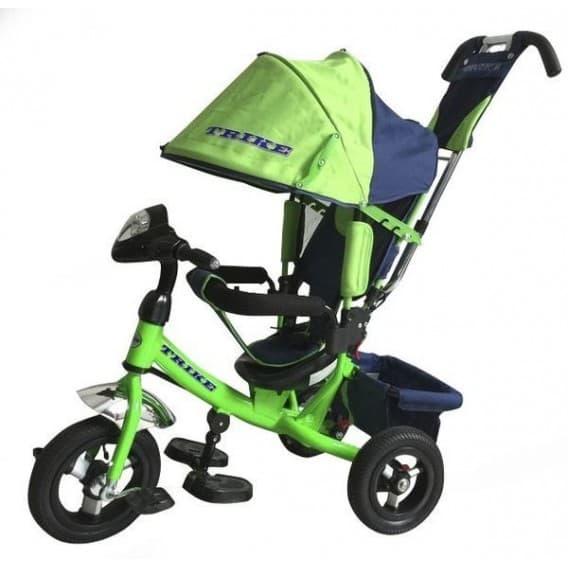 Велосипед-коляска с фарой Trike Travel