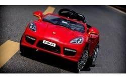 Электромобиль RiverToys Porsche Panamera А444АА с 2-мя аккумуляторами