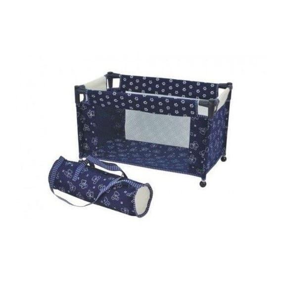 Кровать-манеж для кукол Royal складывающаяся с чехлом DIMIAN (Димиан)
