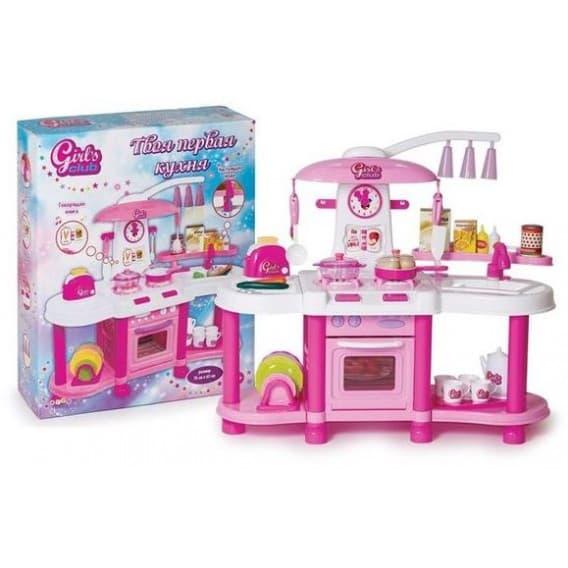 Кухня Girl's club с водой