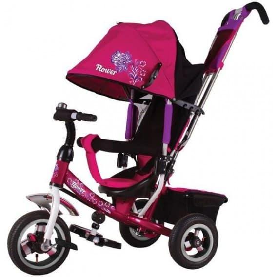 Трехколесный велосипед Trike Flower розовый