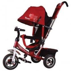Трехколесный велосипед Trike Flower красный