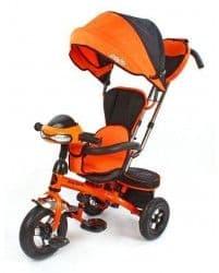 Трехколесный велосипед Moby Kids Comfort-2 Ultra Оранжевый