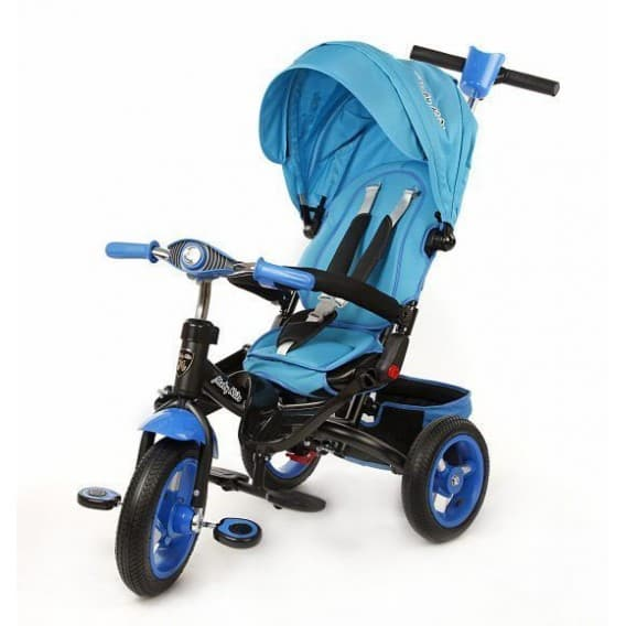 Трехколесный велосипед Moby Kids Leader-2 синий