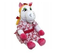 Поющая игрушка Белая лошадка