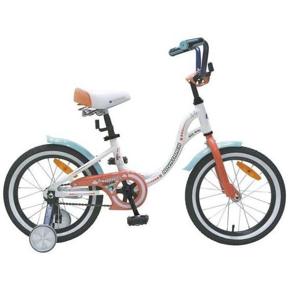 "Велосипед Novatrack 16""Angel белый"