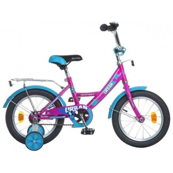 """Велосипед Novatrack 14"""" Urban вишнёвый"""