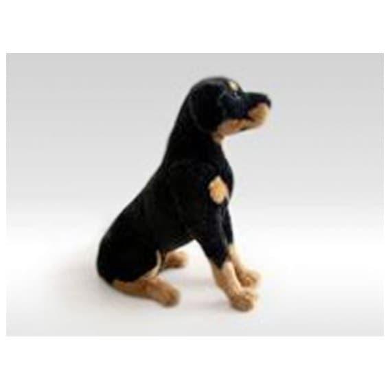 Мягкая игрушка Ротвейлер 75 см