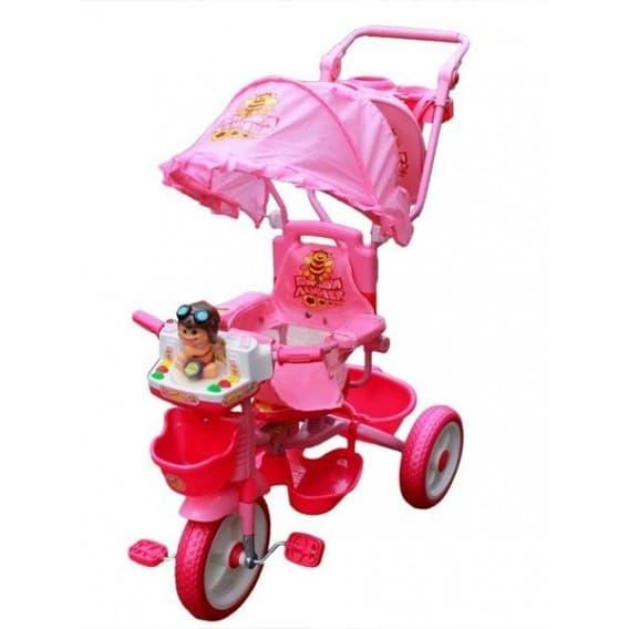 """Трехколесный велосипед с ручкой """"Принцесса"""""""