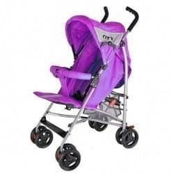 Детская коляска City фиолетовая