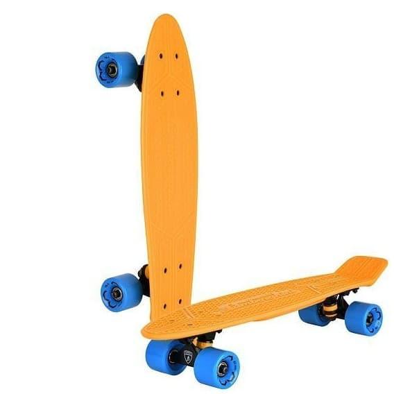 Скейтборд Lamborghini оранжевый