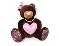 Медведь девочка Choco&Milkс с сердцем 30