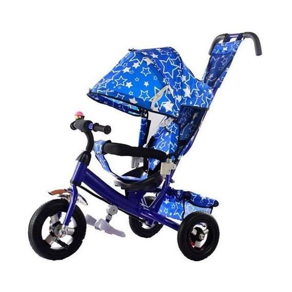 Трехколесный велосипед Kids Cool HP-TC-701 EVA синий