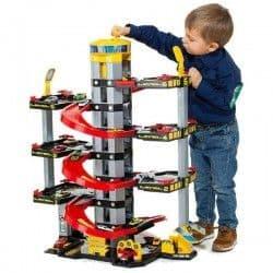 Игровой набор Molto Парковка 6 уровней